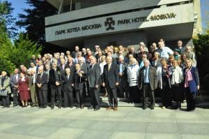 Die Teilnehmerinnen und Teilnehmer der FIR-Konferenz